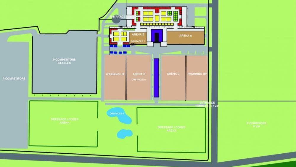 PK plattegrond
